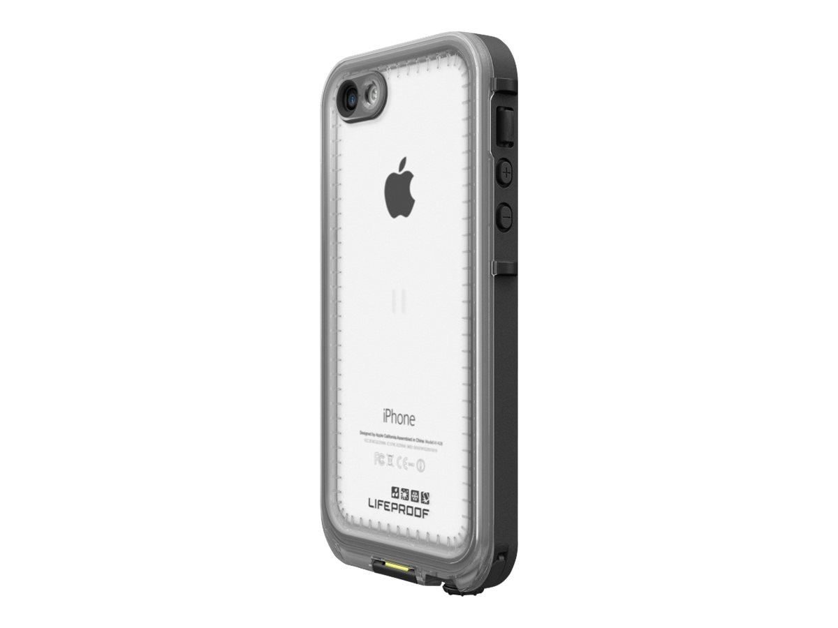 Lifeproof Nuud Case for iPhone 5C, White Clear, 2002-02, 18768659, Carrying Cases - Phones/PDAs