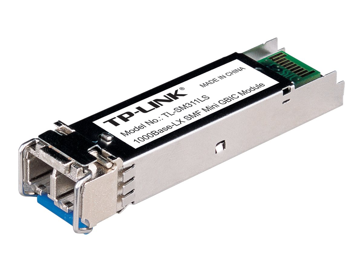 TP-LINK Gigabit SFP Module, Single-mode, MiniGBIC, LC Interface, Up to 10km Distance, TL-SM311LS, 13544074, Network Transceivers