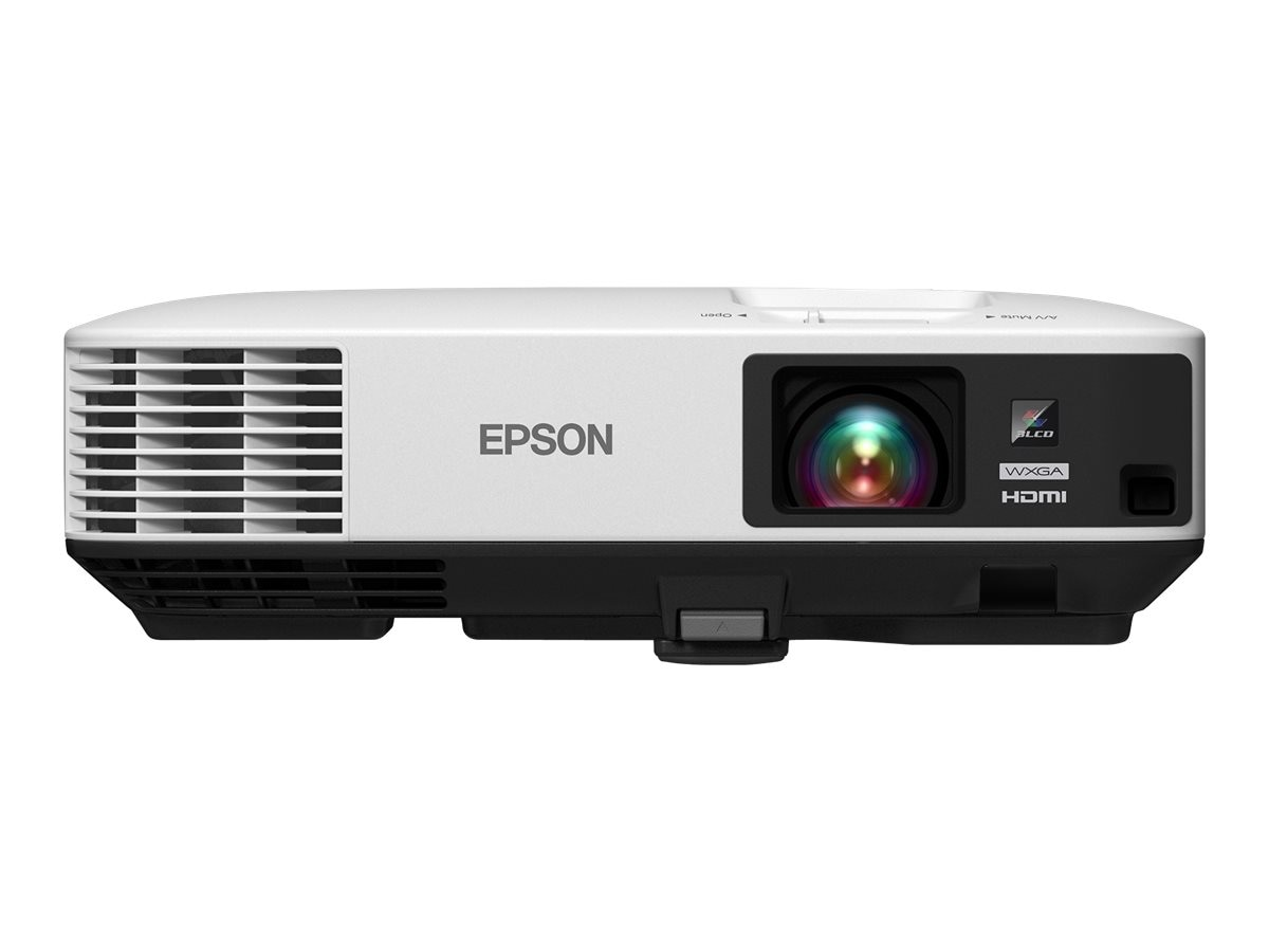 Epson PowerLite 1975W WXGA Wireless 3LCD Projector, 5000 Lumens, White, V11H621020