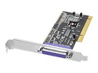 Siig DP 1-port ECP EPP Parallel PCI Dual Profile Adapter, JJ-P01411-S1, 13236151, Controller Cards & I/O Boards