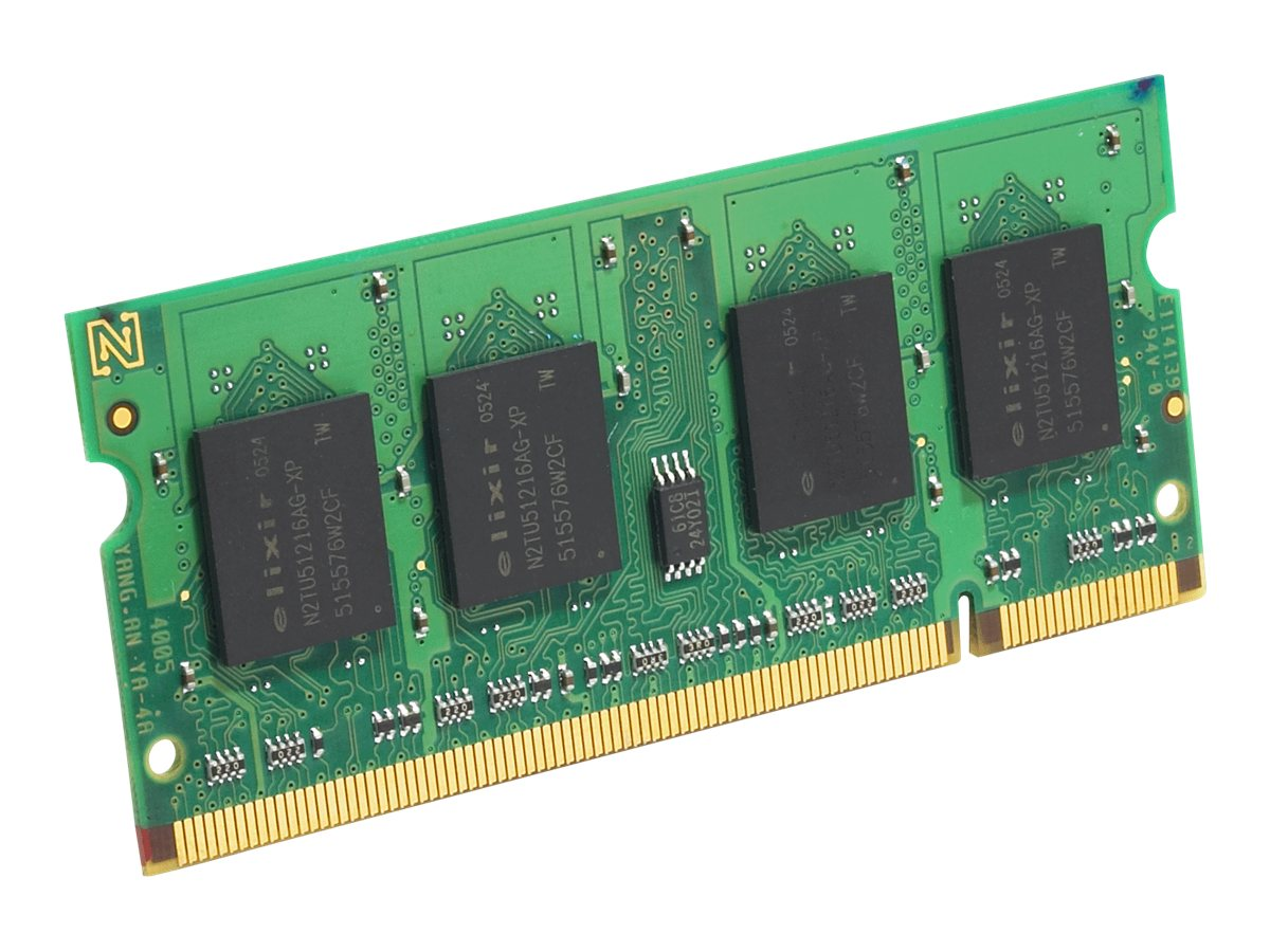 Edge 512MB PC2-4200 200-pin DDR2 SDRAM SODIMM, PE206130, 6766699, Memory
