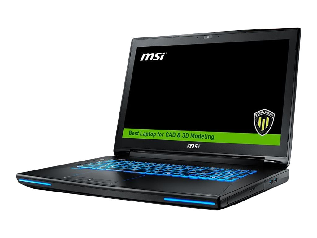 MSI WT72 6QJ-200US with Quadro M2000M 3D
