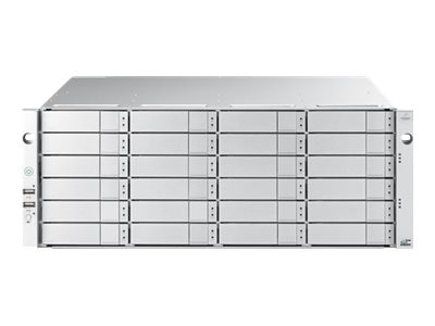 Promise 4U 24-Bay SAS 12Gb s Expansion Dual IOM Subsystem w  24 x 10TB Hard Drives
