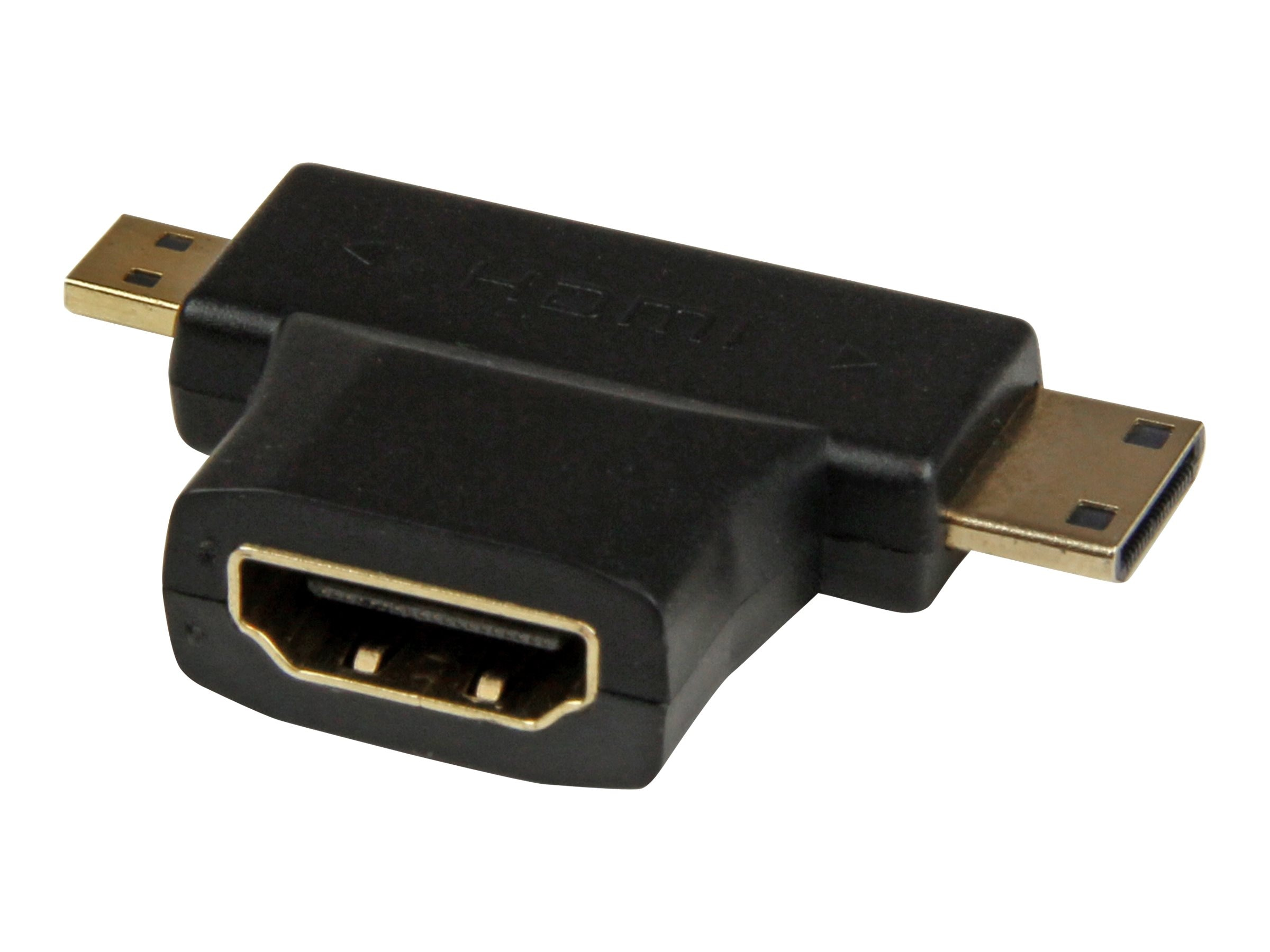 StarTech.com HDMI 2-in-1 F M T-Adapter