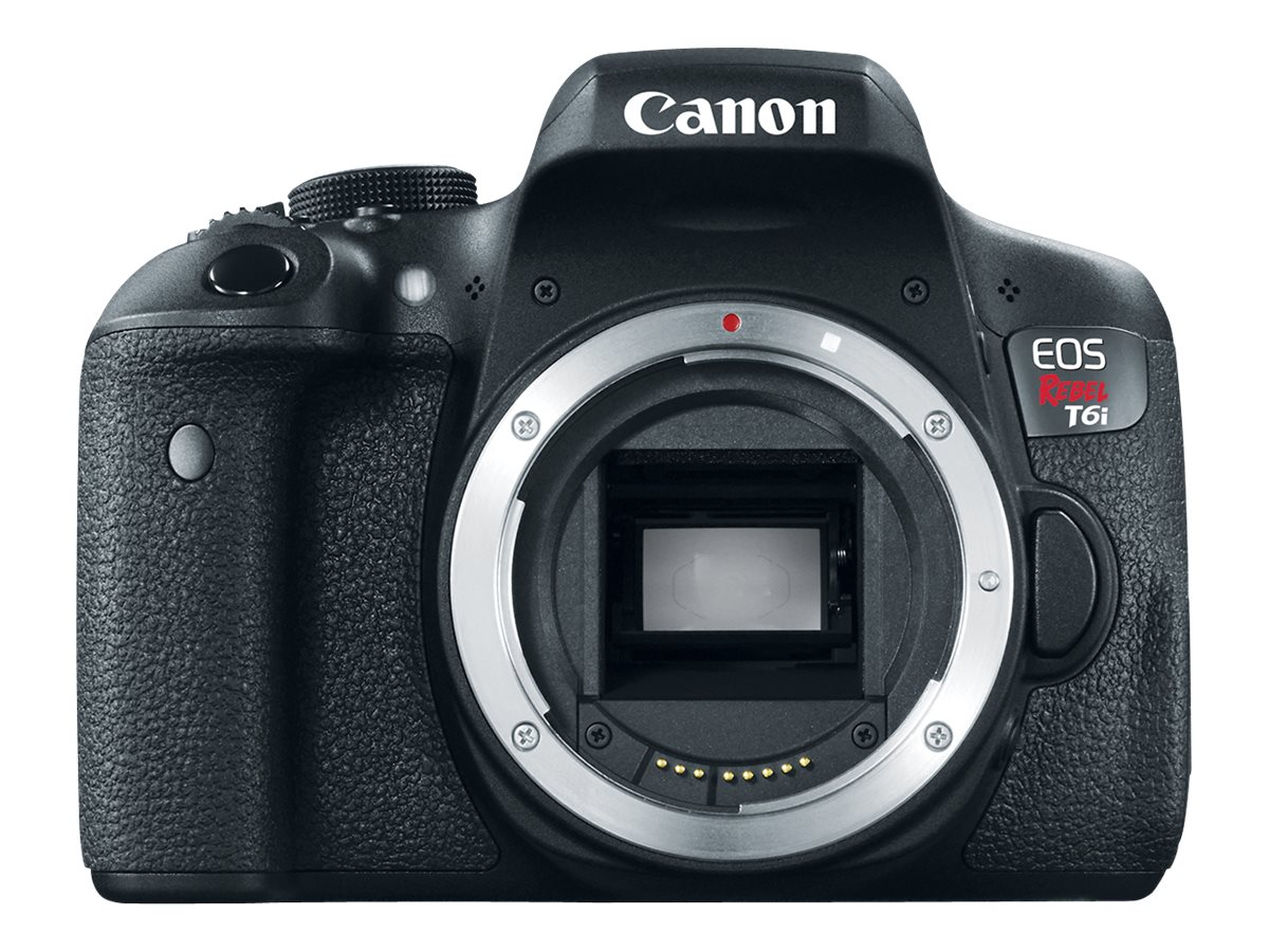 Canon EOS Rebel T6i DSLR Camera with EF-S 18-135mm f 3.5-5.6 IS STM Lens, 0591C005