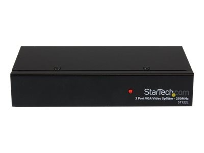 StarTech.com 2-Port VGA Video Splitter, 250MHz, ST122L