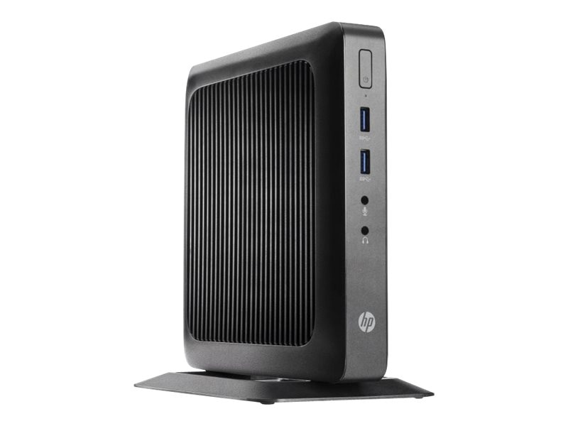 HP t520 Flexible Thin Client AMD DC GX-212JC 1.2GHz 4GB RAM 16GB Flash GbE WES7E, G9F08AA#ABA