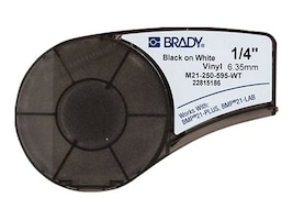Brady Label Cartridge for BMP21-Plus, M21-250-595-WT, 22159442, Paper, Labels & Other Print Media