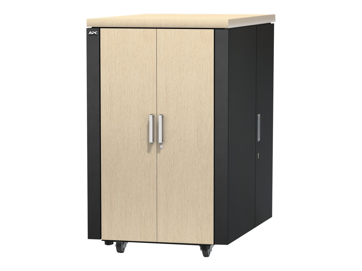 APC NetShelter CX 24U Secure Soundproof Server Room Box Enclosure, AR4024A, 14989681, Racks & Cabinets