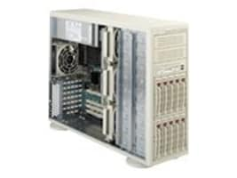 Supermicro Rack or Tower Chassis 4U - Black, CSE-942S-600B, 426319, Rack Mount Accessories