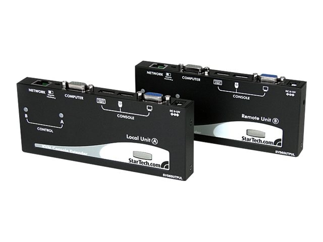 StarTech.com Long Range USB VGA KVM Console Extender over Cat5 UTP - 1000 ft, SV565UTPUL, 11819329, KVM Displays & Accessories