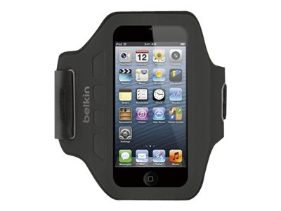 Belkin Ease-Fit Armband for iPod Touch 5th Gen, Blacktop
