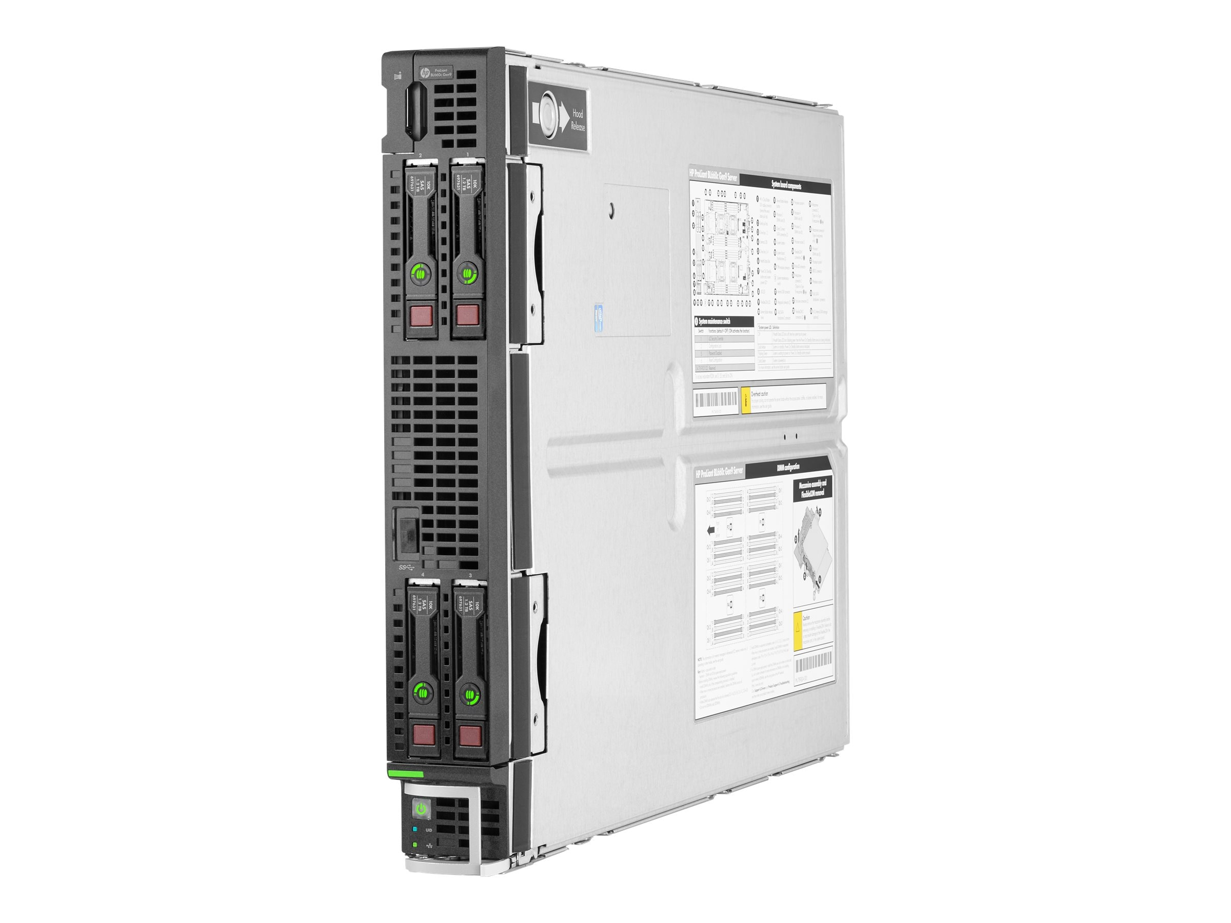HP ProLiant BL660c Gen9 Intel 2.6GHz Xeon Xeon, 728350-B21, 22902494, Servers - Blade