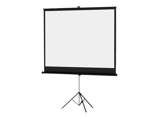 Da-Lite Versatol Tripod Projection Screen, Matte White, 1:1, 84 x 84in