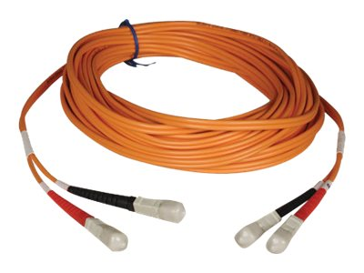 Tripp Lite Fiber Optic Cable, SC-SC, 50 125, Duplex Multimode, 3m, N506-03M, 434602, Cables