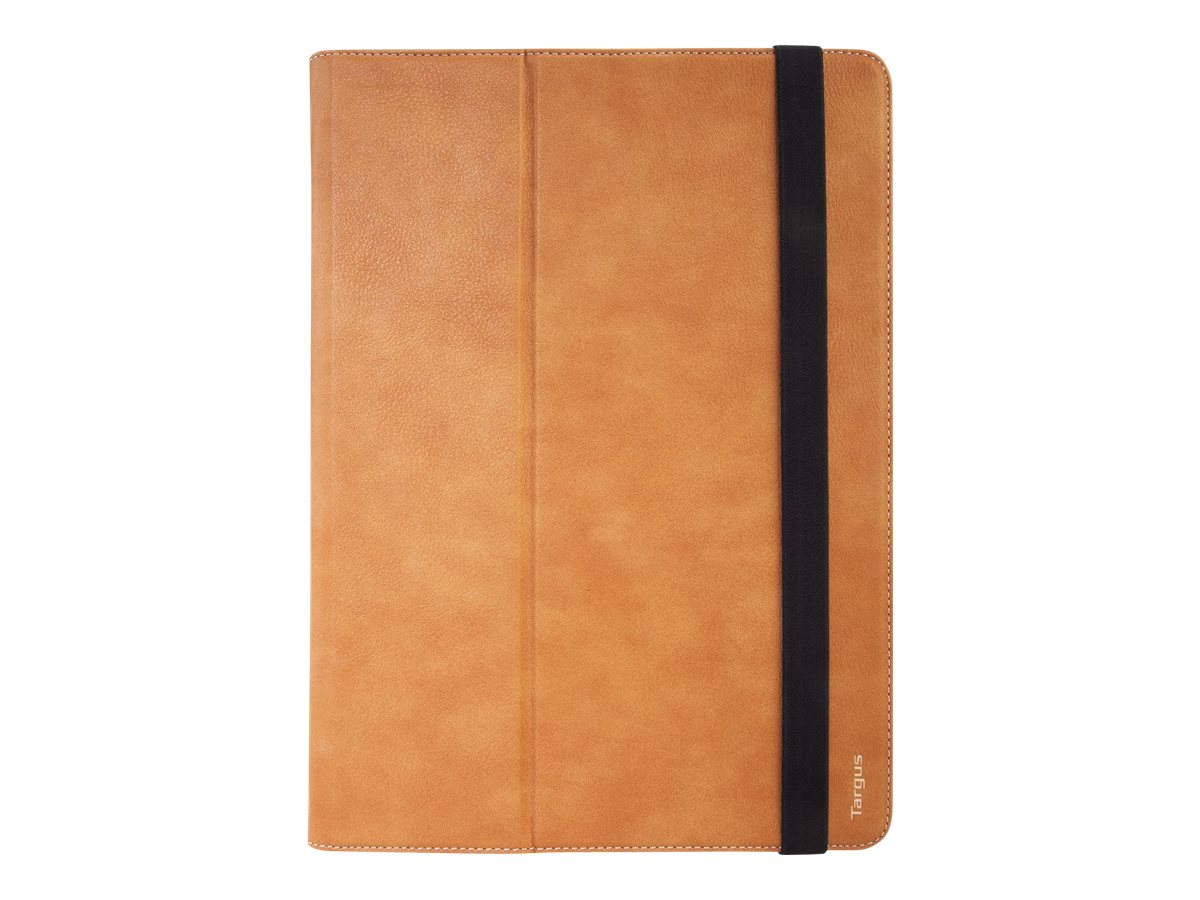 Targus Versavu Rotatin Case for iPad Pro 12.9, Brown, THZ63106GL, 30711495, Carrying Cases - Other