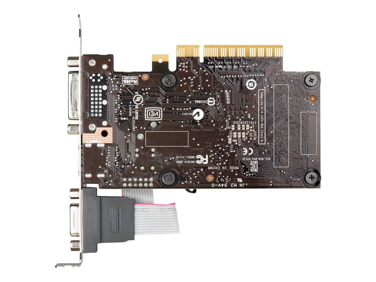 eVGA GeForce GT 710 PCIe Graphics Card, 2GB DDR3, 02G-P3-2713-KR