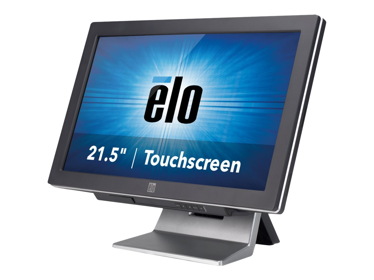 ELO Touch Solutions 22C2 22 WS LED Cedarview Fanless Atom Itouch Glass Win 7 Pro Gray
