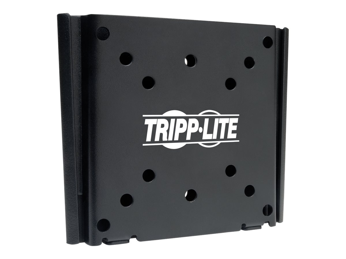 Tripp Lite Fixed Wall Mount for 13 to 27 Flat-Screen Displays, TVs, LCDs, Monitors