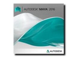 Autodesk Maya 2016 New SLM ELD Annual Desktop Subscription w  Basic Support, 657H1-WW9204-T553-VC, 20592189, Software - 3D Design
