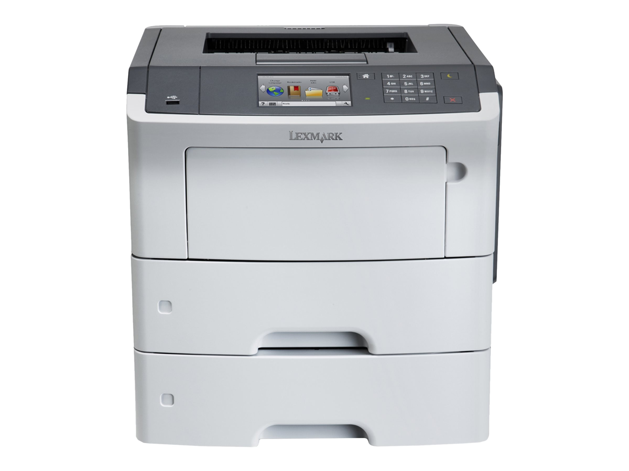 Lexmark MS610dte Monochrome Laser Printer - HV w  CAC Enablement (TAA Compliant), 35ST556