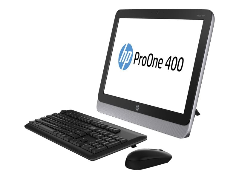 HP Smart Buy ProOne 400 G1 AIO Core i5-4590T 2.0GHz 4GB 500GB DVD SM abgn BT WC 19.5 HD W7P64-W8.1P, G5R38UT#ABA, 17403210, Desktops - All-in-One
