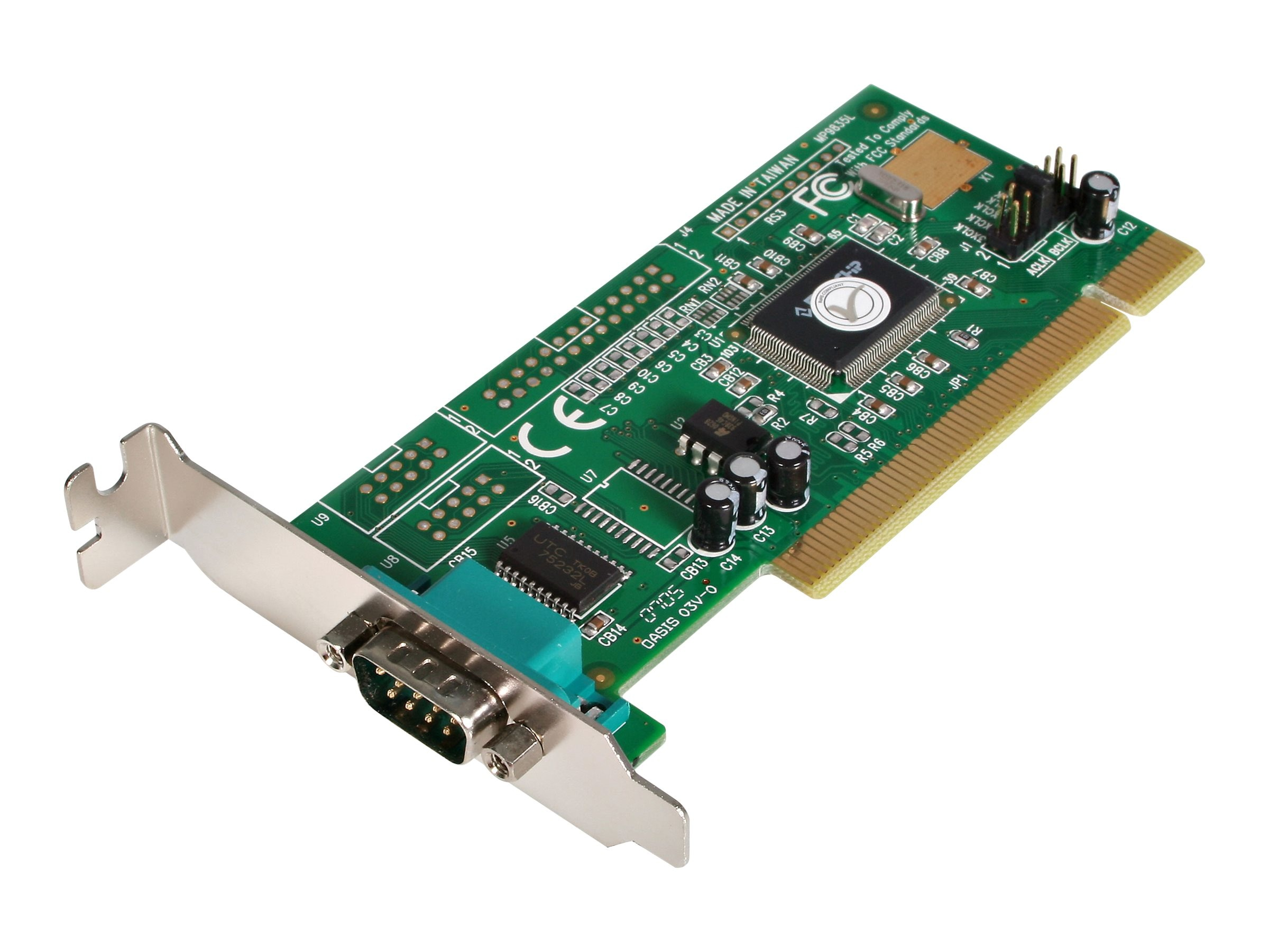 StarTech.com Low-Profile 1-Port Serial PCI Card, PCI1S550_LP, 5110436, Controller Cards & I/O Boards