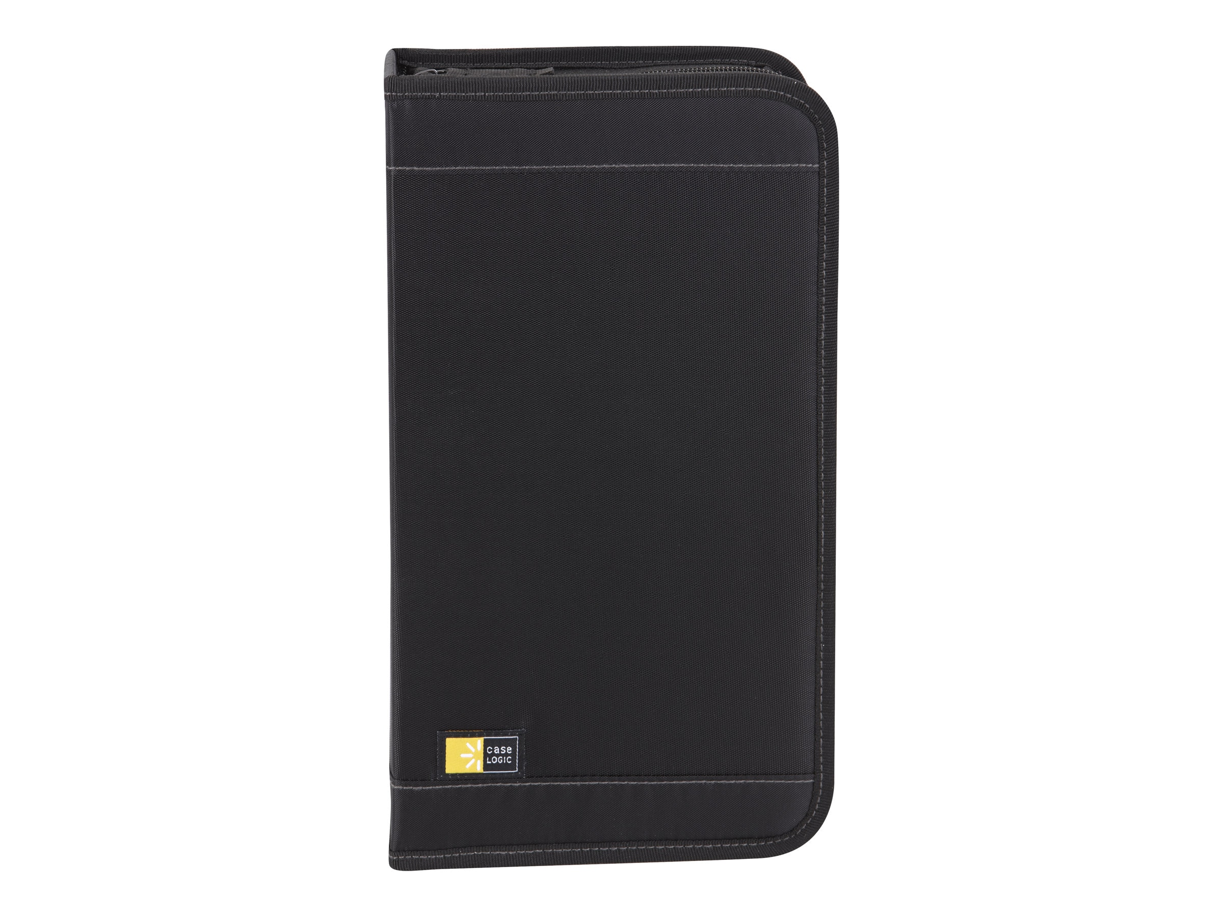 Case Logic CD Wallet; 64 Disc Capacity - Black Nylon, CDW64, 223264, Media Storage Cases