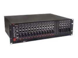 IMC iMediaChassis 6-2DC -- 6-slot, rackmountable, includes two PS 125-DC Power Modules (dual power), 50-10953-2DC, 5850864, Network Transceivers