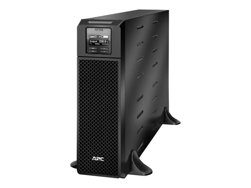 APC Smart-UPS SRT 5000VA 4250W 208V Online Ext Runtime L6-30P Input NEMA L6-20R L6-30R Outlets Int Byp, SRT5KXLT, 18184936, Battery Backup/UPS