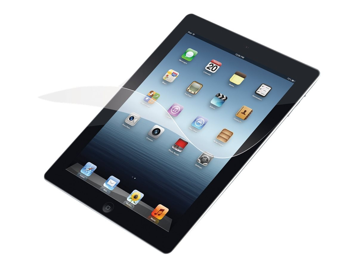 Targus Bubble-Free Adhesive Clear Screen Protector for iPad 2, iPad 3