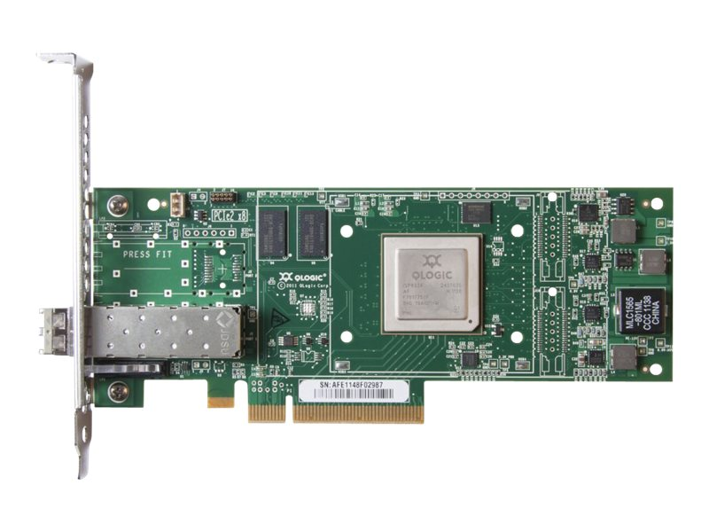 HPE StoreFabric SN1000Q 16GB 1-port PCIe Fibre Channel HBA