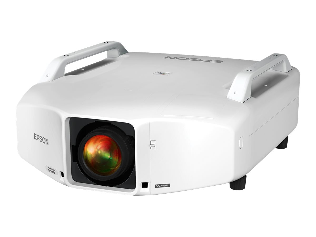 Epson PowerLite Pro Z9900WNL WXGA 3LCD Projector, 9200 Lumens, White, V11H609920, 17524177, Projectors