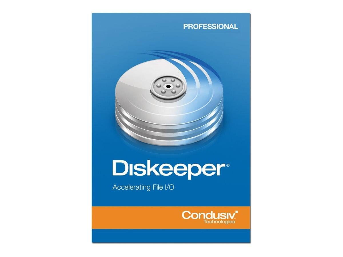 Condusiv Corp. VLA Diskeeper 12.0 Pro 2-year Maintenance 10-24 Licenses, 191631, 16476610, Software - Network Management