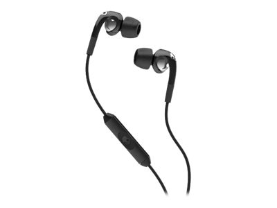 Skullcandy The Fix Earbuds w  Mic - Black Chrome, S2FXFW-008, 19415943, Headsets (w/ microphone)