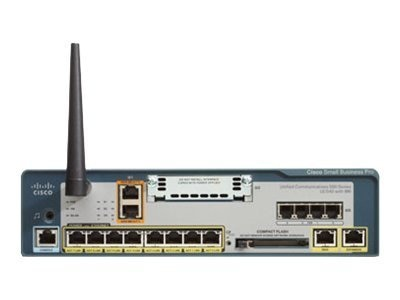Cisco Unified Communications System 540 VoiP Gateway, UC540W-BRI-K9, 11938432, Network Voice Servers & Gateways