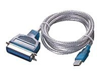 Sabrent USB 2.0 Parallel Printer Adapter Cable, 6ft
