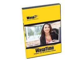 Wasp WaspTime V7 Standard Time and Attendance System, Software Only, 633808551117, 7881550, Bar Coding Accessories