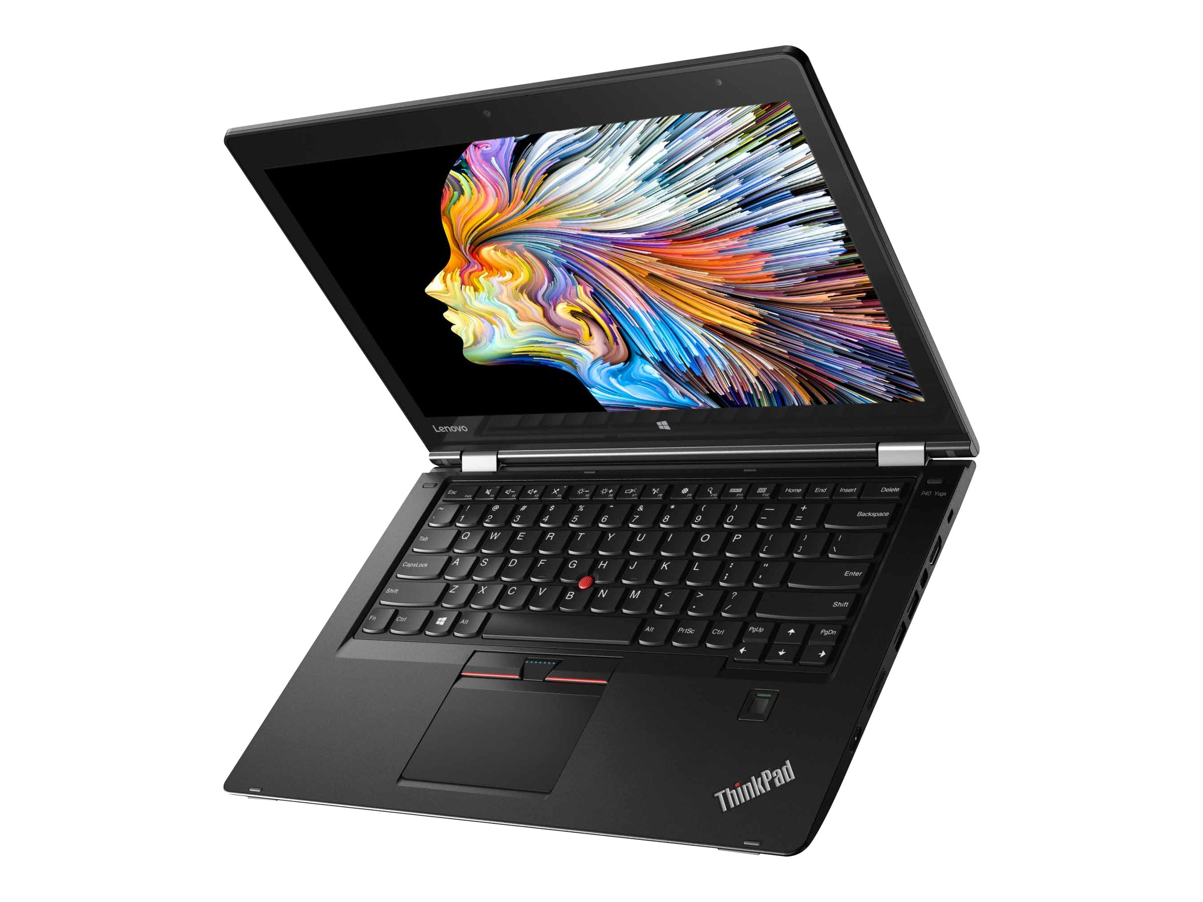 Lenovo TopSeller ThinkPad P40 Yoga Core i7-6600U 2.6GHz 16GB 512GB SSD ac BT FR WC Pen 14 WQHD MT W10P64, 20GQ000EUS, 31188579, Workstations - Mobile
