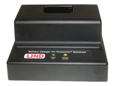 Lind Battery Charger, 1 Bay, for CF-08 Toughbook, PACH108-1773, 7703032, Battery Chargers