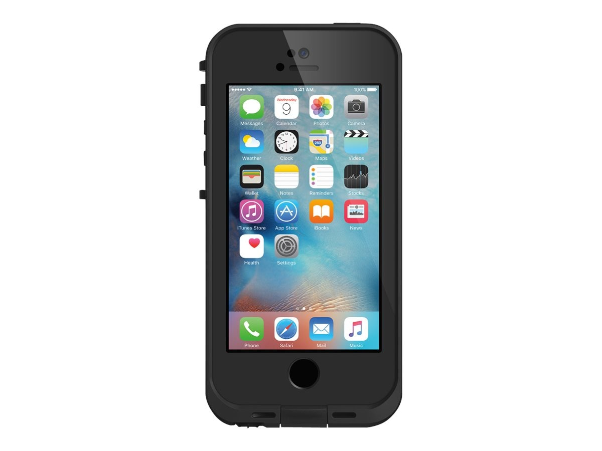Lifeproof FRE Case for iPhone 5 5S SE, Black