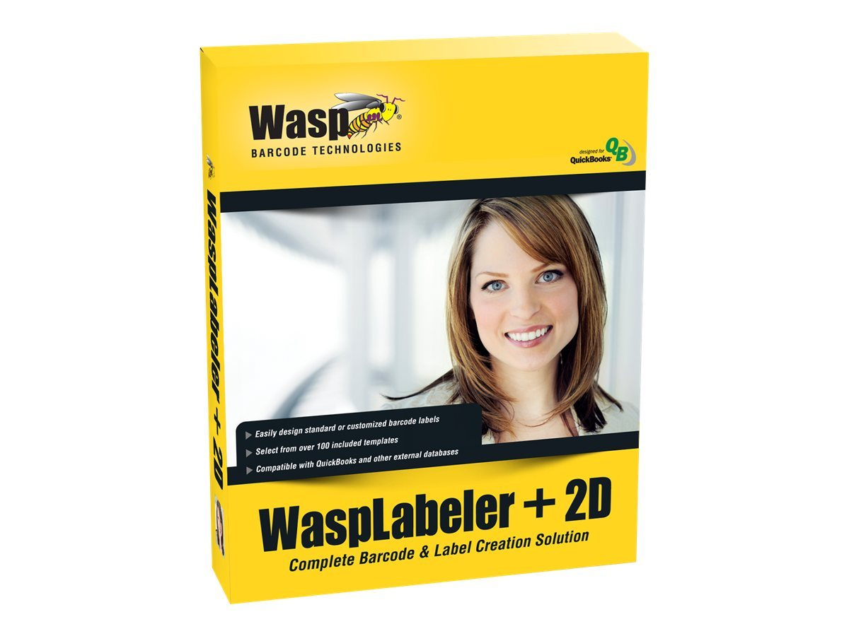 Wasp Labeler + 2D 1 User License, 633808105266, 13827541, Software - Labeling & Mailing List