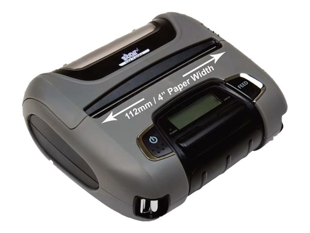 Star Micronics SM-T400I-DB50 4 Portable MFI Bluetooth Serial Printer - Black w  Tear Bar