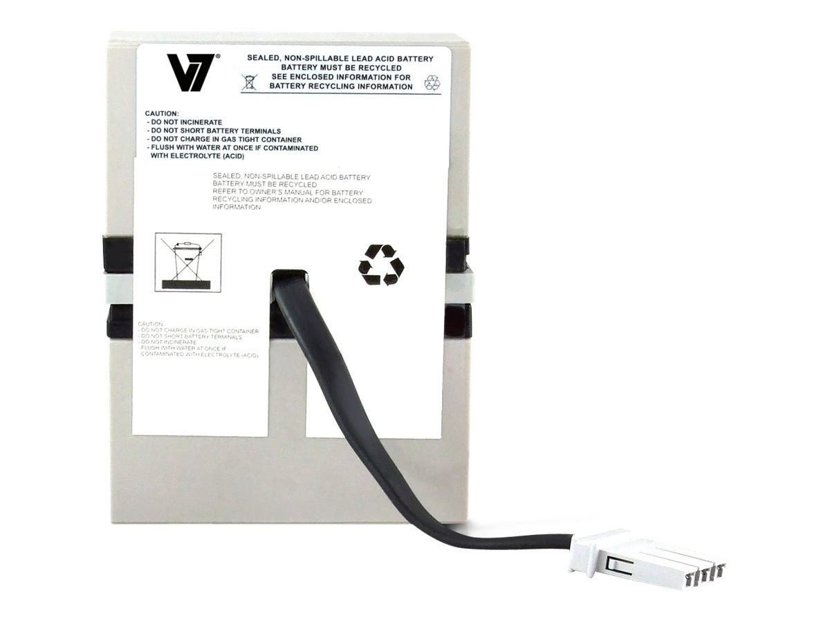 V7 Replacement UPS Battery for APC # RBC32, RBC32-V7