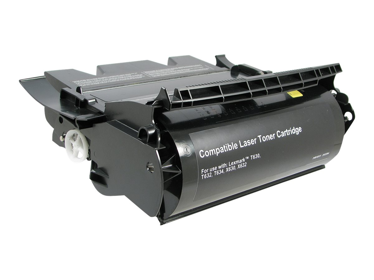 V7 12A7462 Black Toner Cartridge for Lexmark