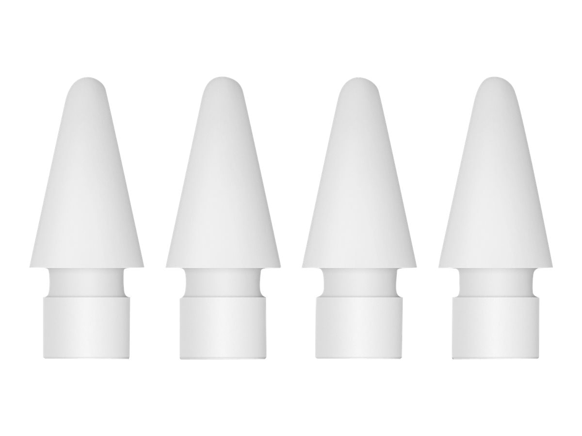 Apple Replacement Pencil Tips for iPad Pro, 4-Pack, MLUN2AM/A