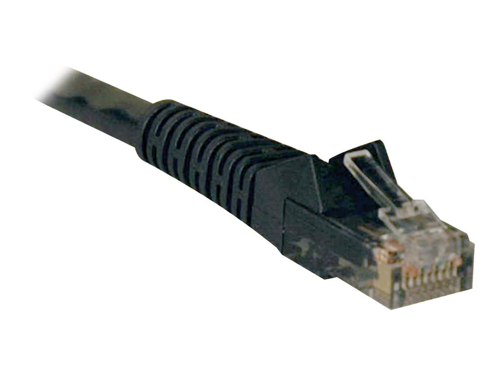 Tripp Lite Cat6 Gigabit Snagless Molded Patch Cable, Black, 5ft, 50-Pack, N201-005-BK50BP