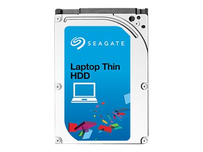 Seagate 500GB Laptop Thin SATA 7.2K RPM 2.5 Internal Hard Drive - 32MB Cache