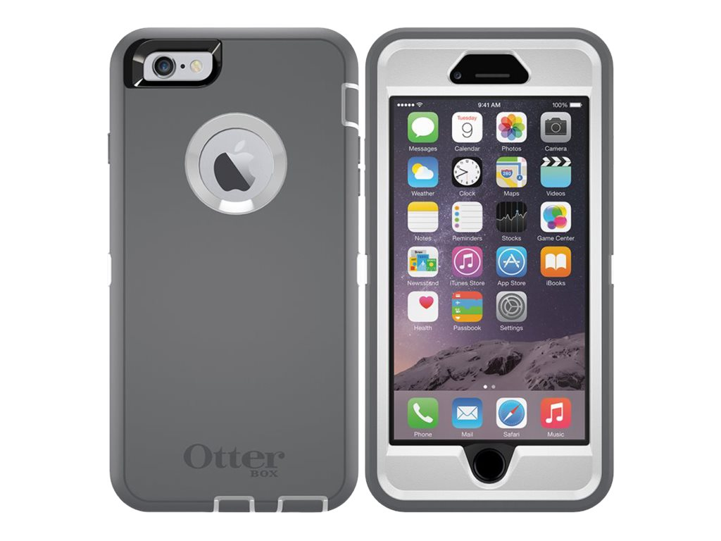OtterBox Defender for iPhone 6 Plus, B2B Pro Pack, Glacier