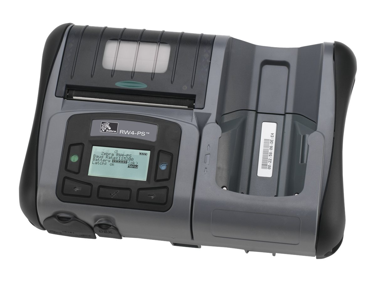 Zebra RW 420 Plus Mobile Printer, R4P-6UBA0000-00